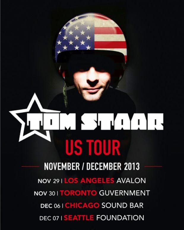 Tom Starr Announces North American Tour - EDM News