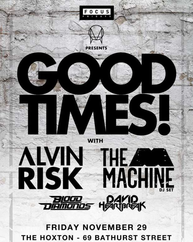 Magnetic Event: Focus Fridays Toronto 11/29/13 With Owsla's Good Times Tour