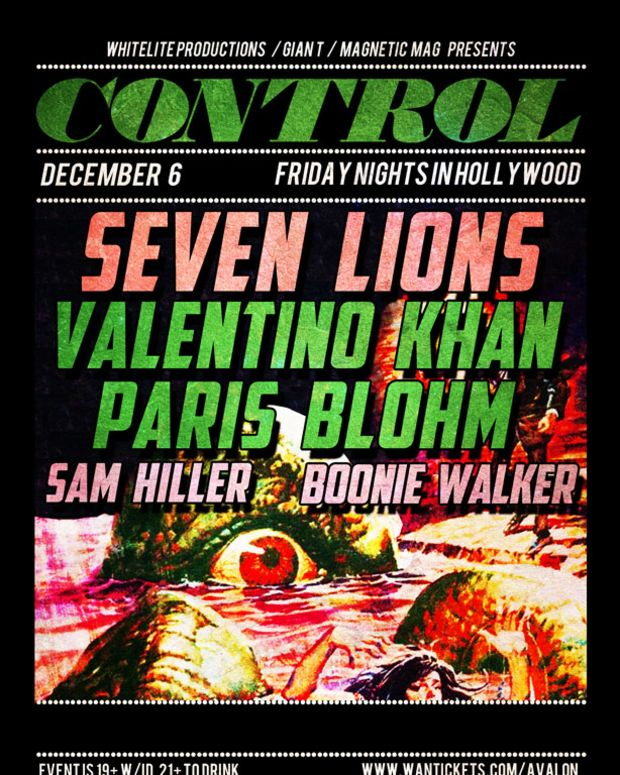 Seven Lions, Valentino Khan, And Paris Blohm At Control Tonight - EDM News