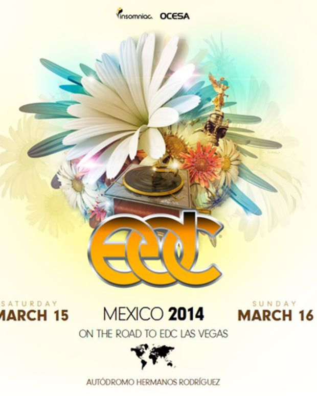 Insomniac Debuts EDC Mexico City March 15-16 2014 - EDM News