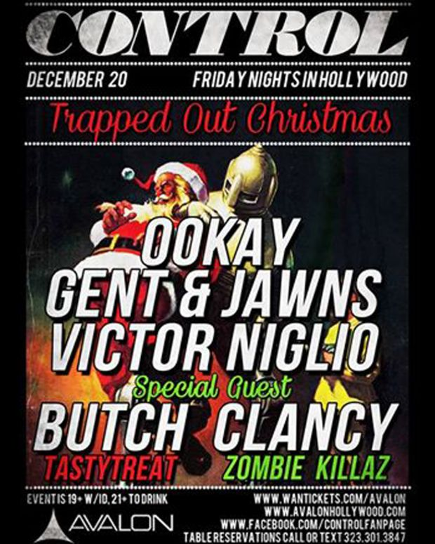 Tonight- A Trapped Out Christmas At Control Inside The Avalon Hollywood - EDM News