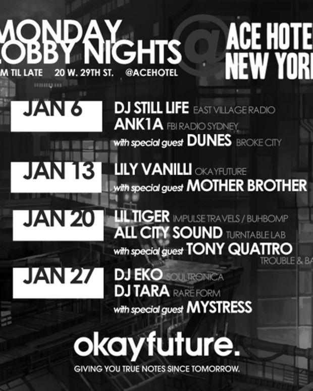 Okayfuture Takes Over The Ace Hotel New York Lobby This January - EDM News