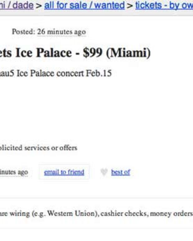 Bros In Miami Trying To Sell Free deadmau5 Tickets On Craigslist For Up To $150 - EDM News