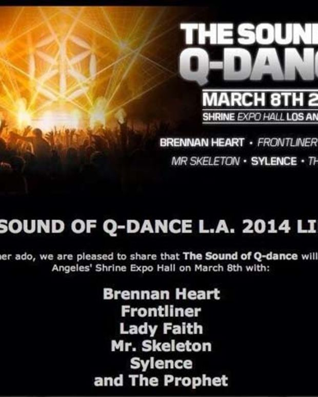 Lineup Released for The Sound of Q-Dance with Brennan Heart, Frontliner, Lady Faith & More - EDM News