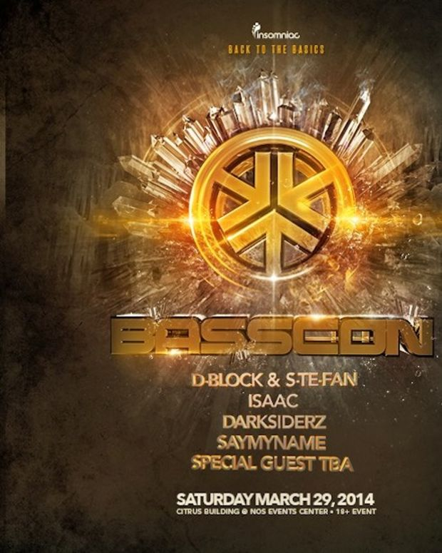 Insomniac Releases Basscon Massive Lineup With Isaac, D-Block & S-Te-Fan and More - EDM News