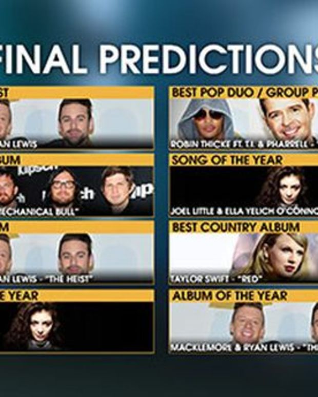 Will EDM Culture Strike Out When It Faces Other Genres At The 2014 Grammys?