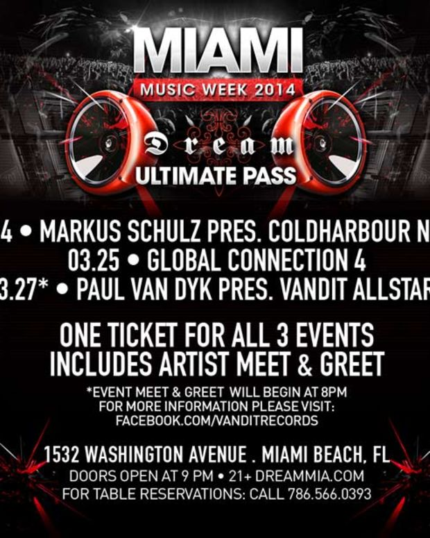 Event Spotlight: Dream Miami Hosting Three Big Nights During Winter Music Conference