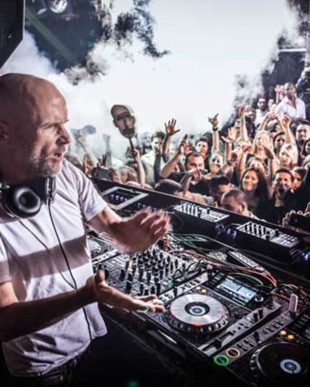 House Music Legends Moby & Pete Tong On The Decks At Sound Nightclub