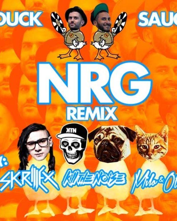 """New Electronic Music Premiere: Duck Sauce """"NRG"""" (Skrillex, Kill The Noise, Milo & Otis Remix)"""