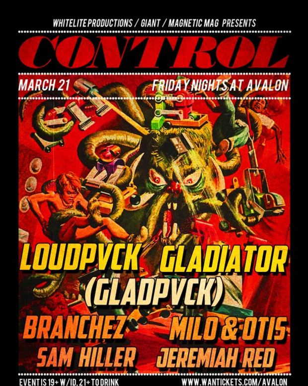 Control Returns To The Avalon Tonight With A Bass Heavy Lineup