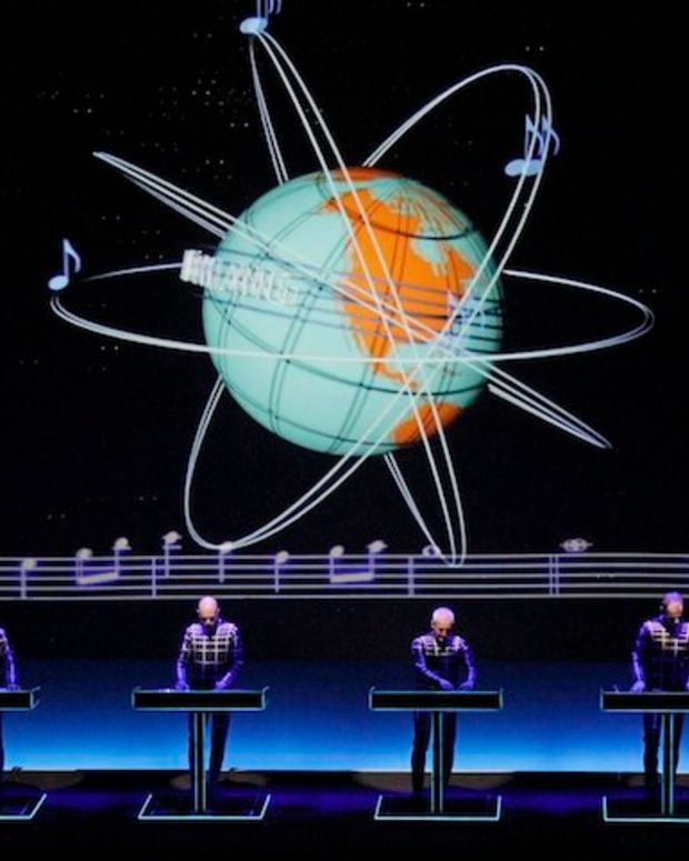 Kraftwerk Kicks Off Their Residency In Los Angeles