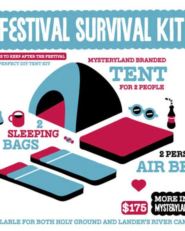 Mysteryland USA's Festival Survival Kit