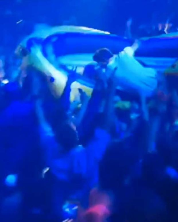 Watch The Chainsmokers' Drew Capsize Steve Aoki's Raft