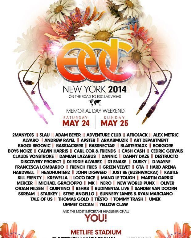 EDM Festival Preview: EDC New York