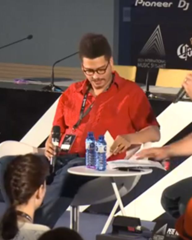 Pete Tong Interviews Seth Troxler At IMS 2014
