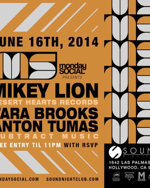 Mikey Lion of Desert Hearts - Monday Social - June 16th, 2014
