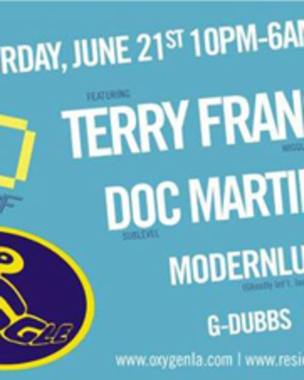 Terry Francis Returns To LA With Doc Martin- June 21st
