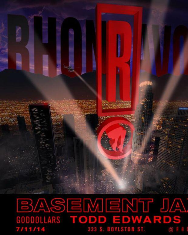Rhondavous w/ Basement Jaxx (DJ Set) & Todd Edwards