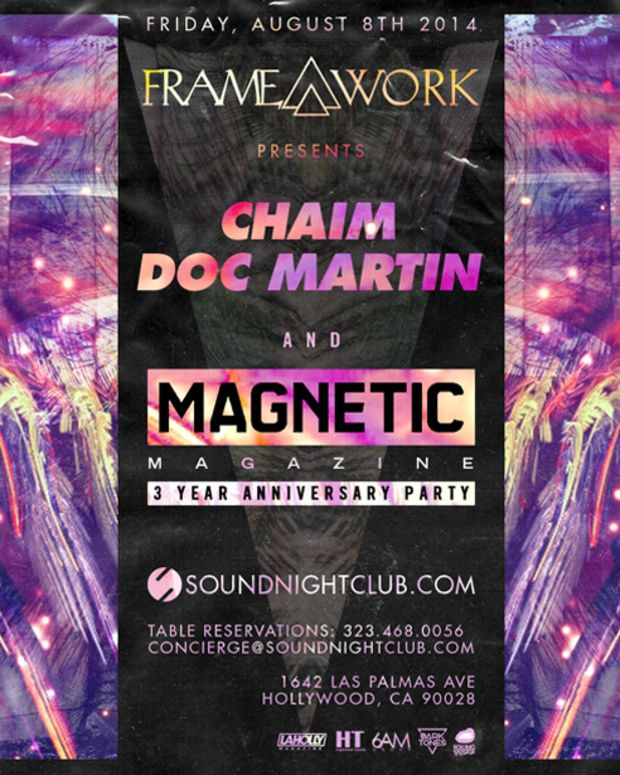 Magnetic's Three Year Anniversary Party
