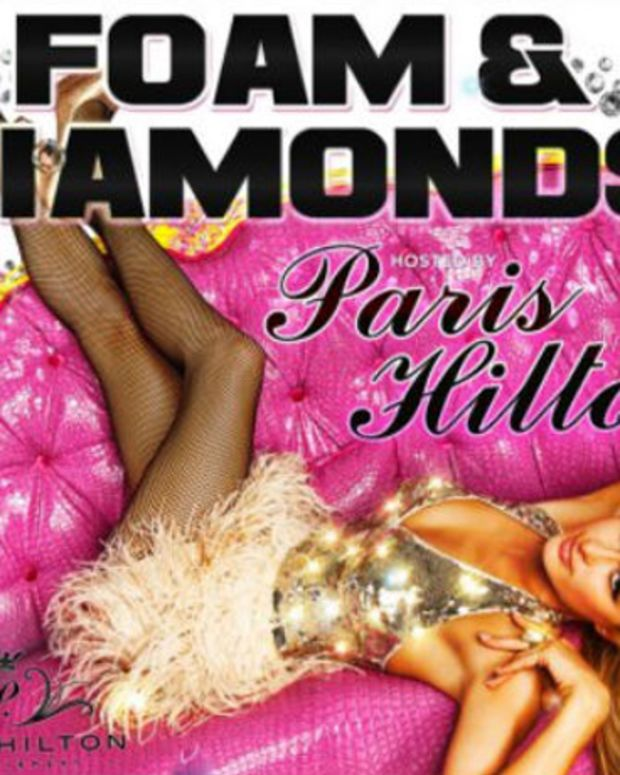 Dancing Astronaut Has The Whole Scoop On DJ Paris Hilton's Foam & Diamonds Party