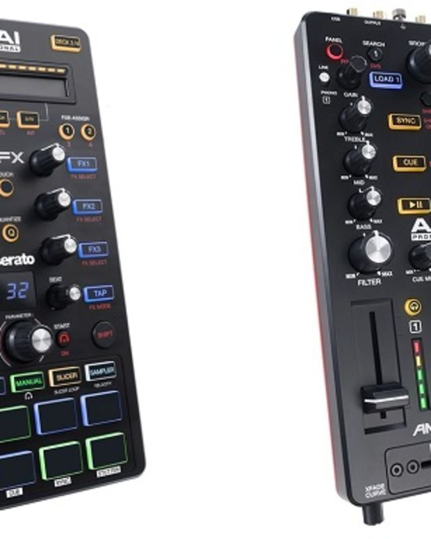 Akai Professional Dual Release: AFX/AMX Controllers For Serato DJ