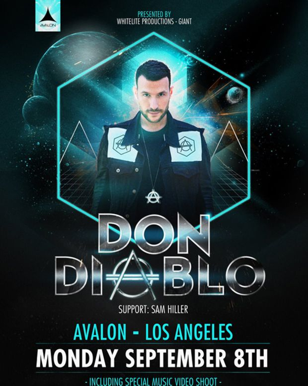 Tonight: Don Diablo Free Show At Avalon Hollywood + Video Shoot