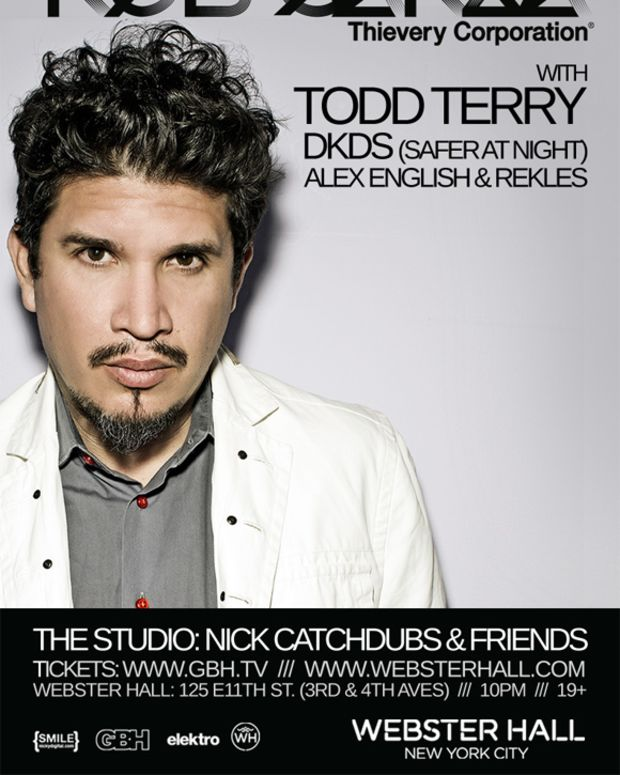NYC: Win A Meet & Greet With Rob Garza & Complimentary Champagne Bottle Service Tomorrow At Webster Hall