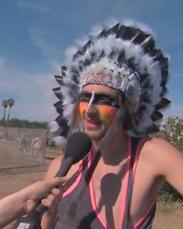 Glastonbury Bans Native American Headdresses