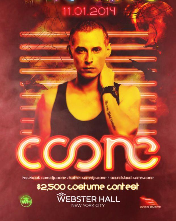 Spotlight: Coone At frite nites Inside Webster Hall 11/1/14
