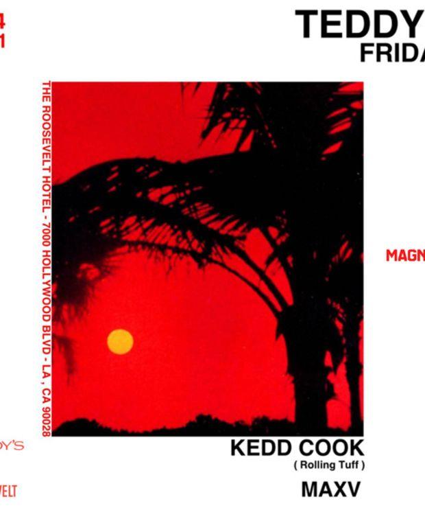 Los Angeles Tonight: Kedd Cook & MAXV @ Teddy's