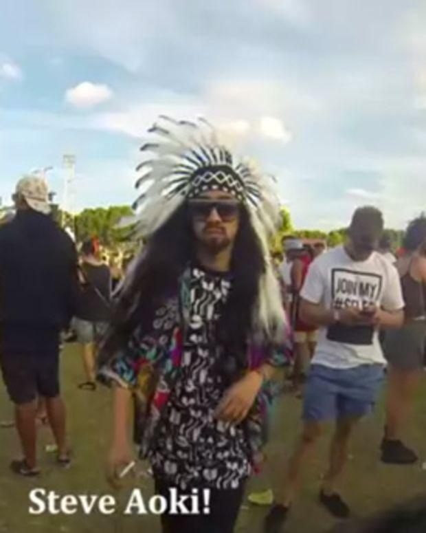 Fake Steve Aoki Trolls Audiences At Stereosonic