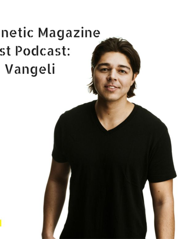 Magnetic Magazine Guest Podcast: SIZE Record's Artist Max Vangeli