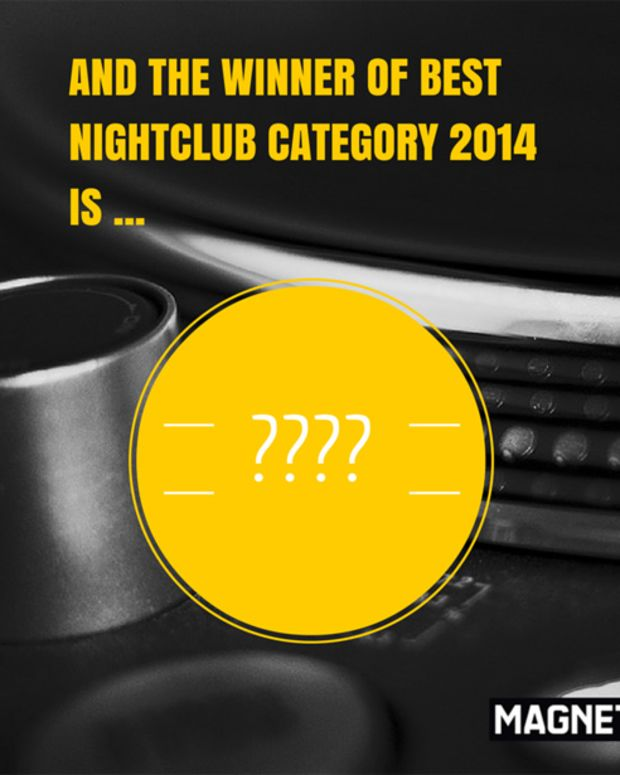The Winner Of The Best Nightclub Category for Magnetic Mag's Best Of 2014
