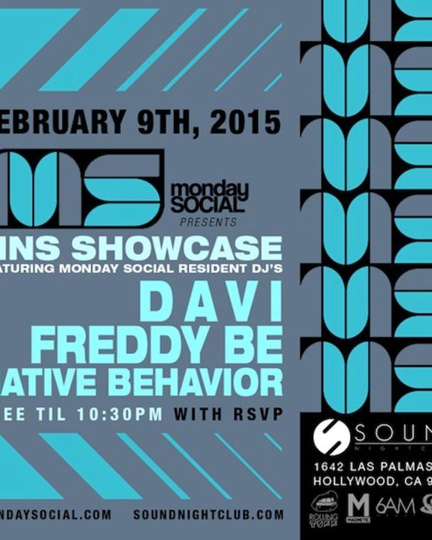 Monday Night Social Showcase Ft. DAVI, Freddy Be, & Native Behavior