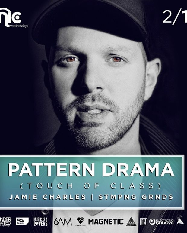 Pattern Drama at Clinic Wednesdays Tonight - 2.11.2015