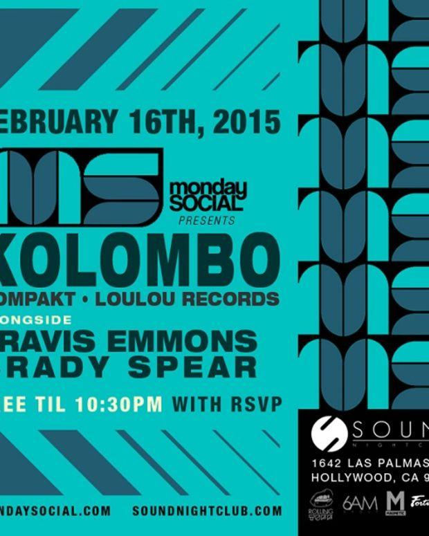 Kolombo (Loulou Records) at Monday Social - 2.16.2015