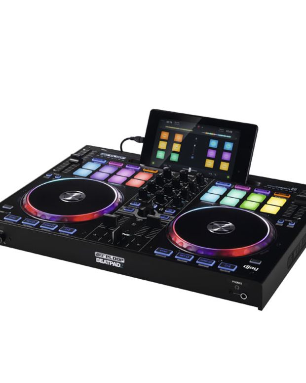 DJ Gear: New DJ Controller RELOOP BEATPAD 2 Announced