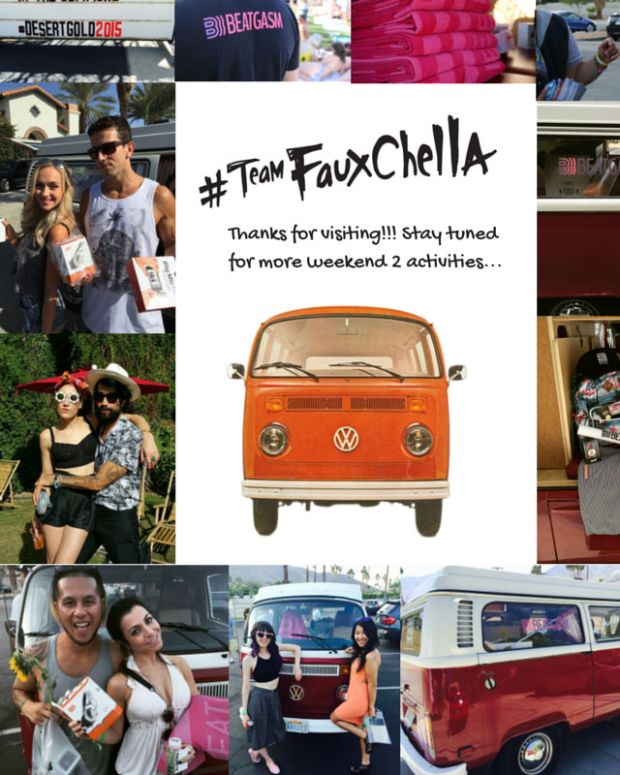 #TeamFauxchella Weekend One Recap & Contest - Win The Ultimate Festival Pack