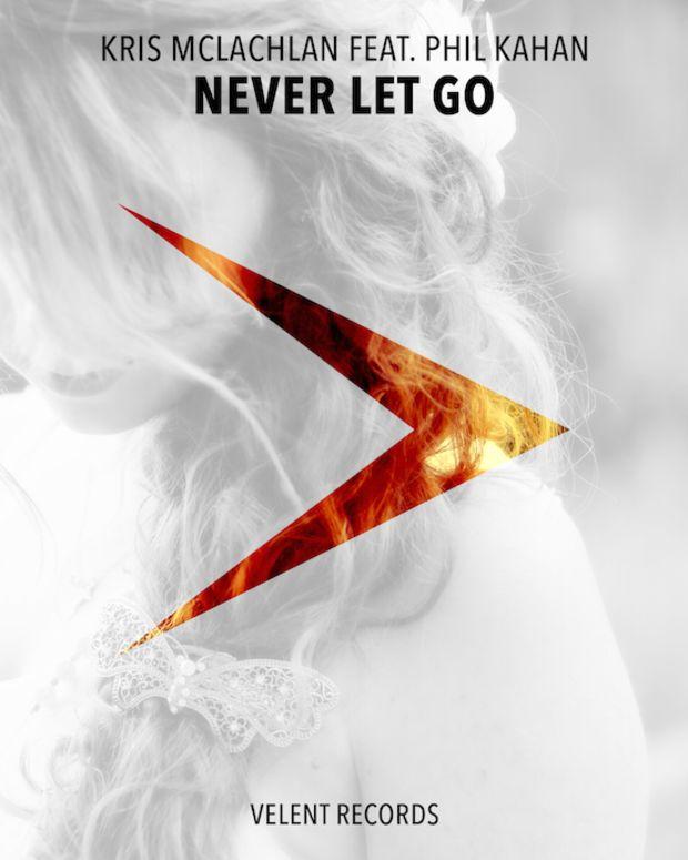 Never Let Go Album Cover Velent Records