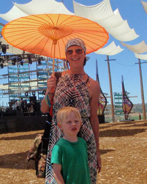 Leukemia Patient Seeks Healing At Electronic Music Festival