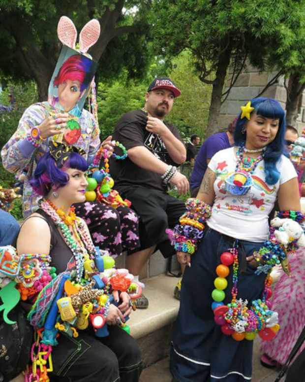 This Is What Happens When Ravers Take Over Disneyland (Photos)