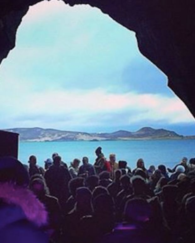 Watch: Nina Kraviz Hosted A Rave Inside A Cave In Iceland