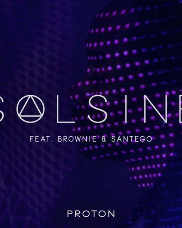 """Premiere: London's Solsine Drop Amazing New Future Retro Track """"Proton"""""""