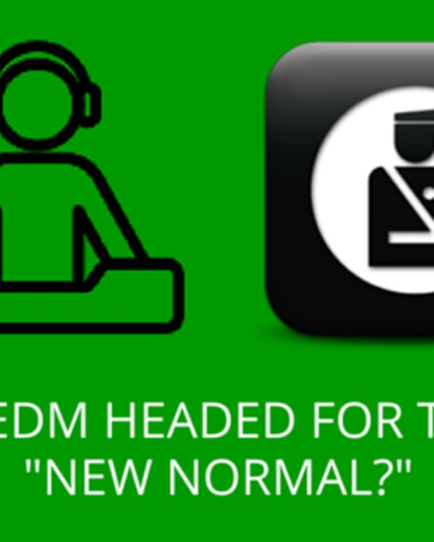 """Is EDM Heading For The """"New Normal?"""""""