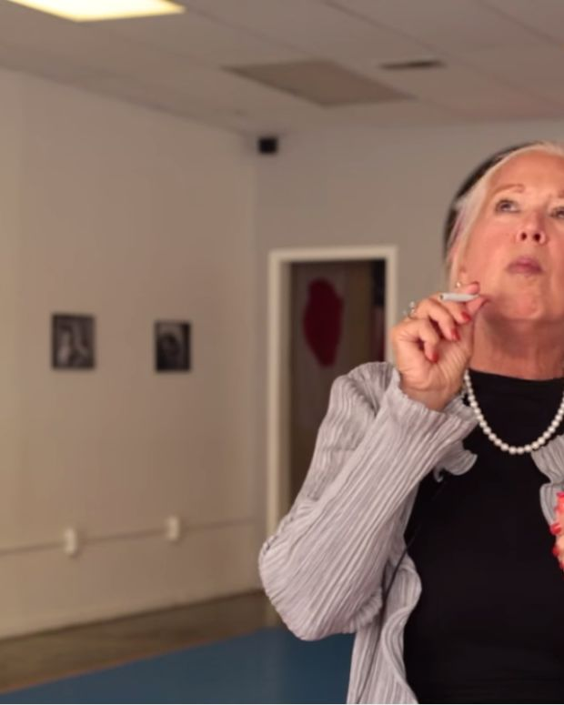 Grandma Smoking Weed to Trap