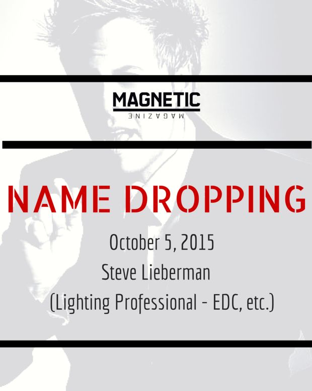 Name Dropping With Steve LIeberman