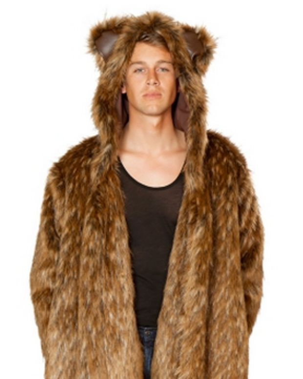 bear robe costume