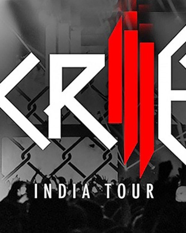 skrillex india tour