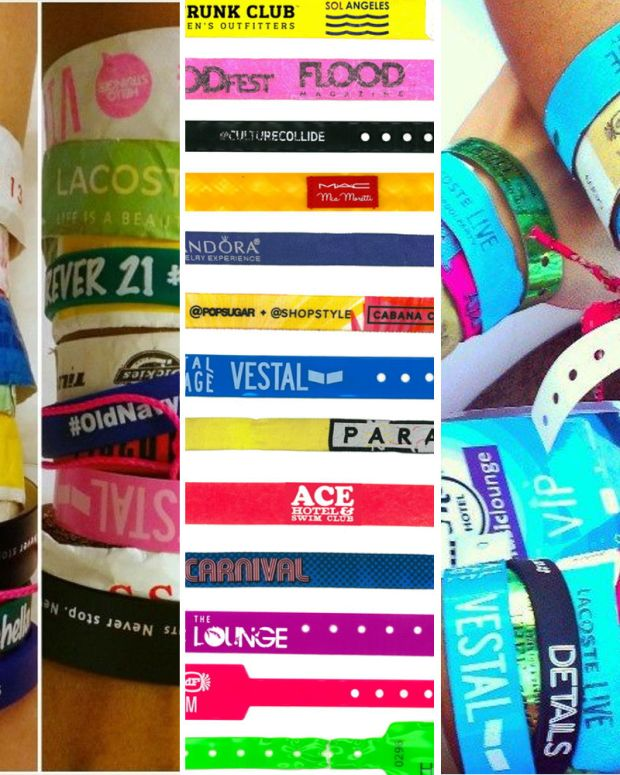 Fauxchella wristbands