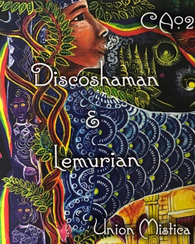 Discoshaman&lemurian-ca022cover
